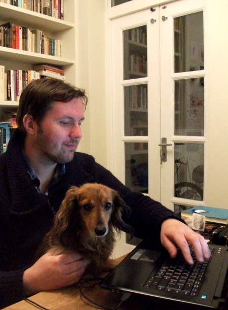 Simon and Chatz on the interweb